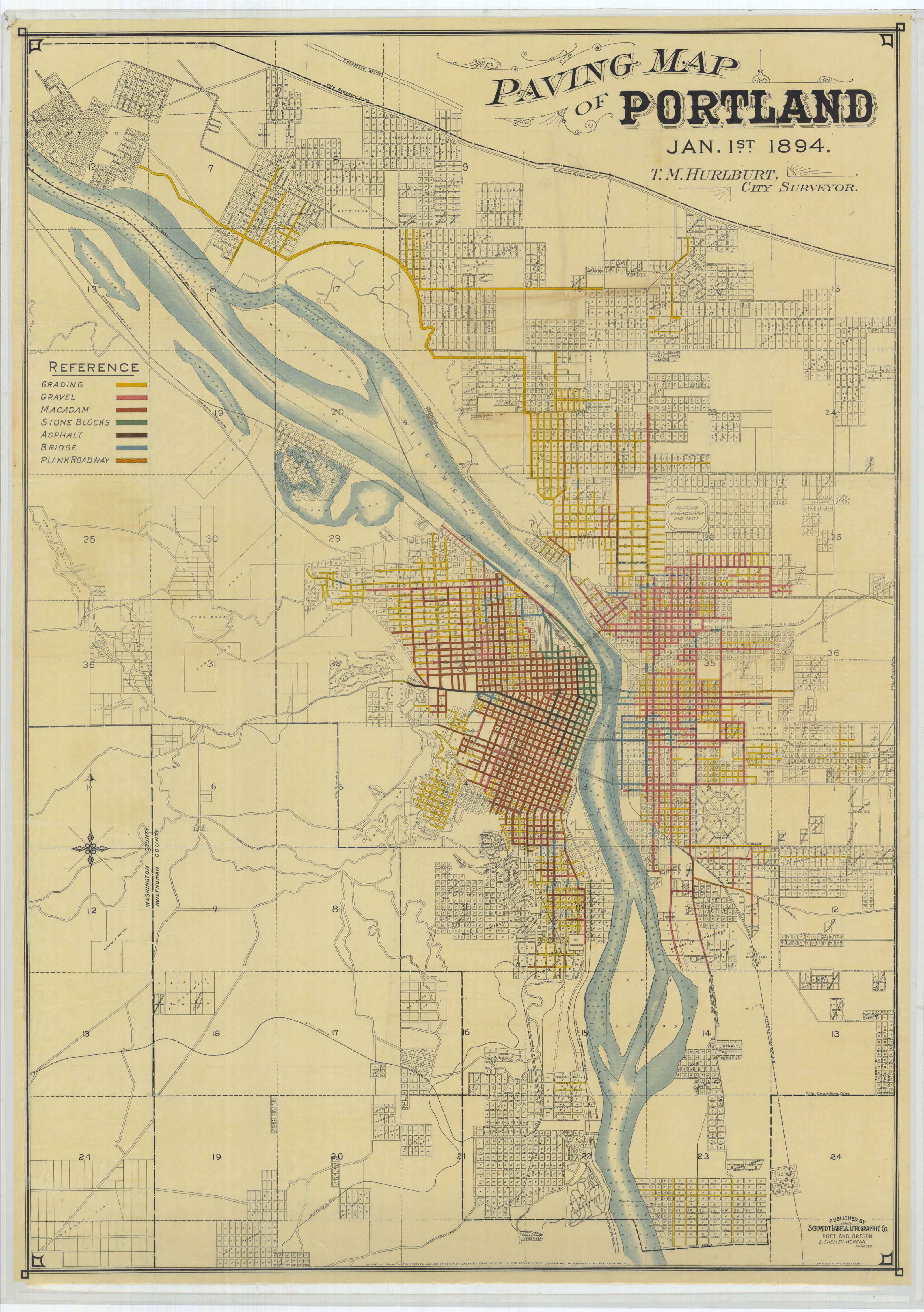 Best Images About Design Maps On Pinterest Behance - Portland oregon on the usa map