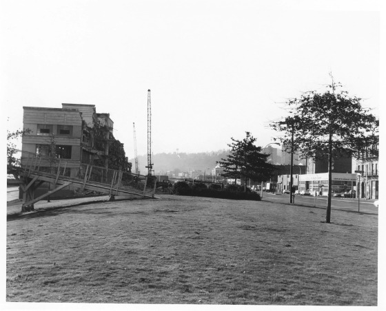 Building Demolition Portland : December vintage portland