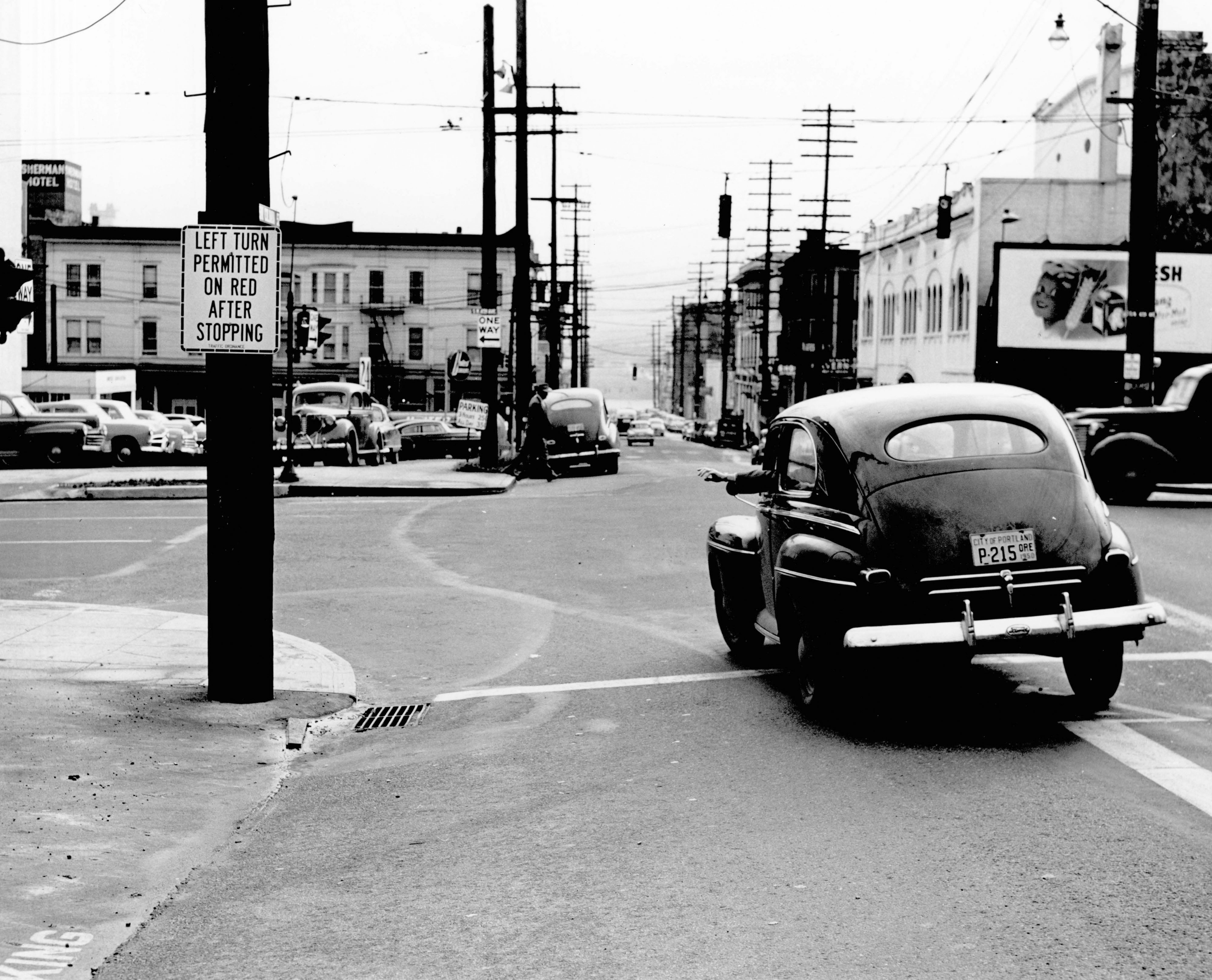 SW Columbia & 4th, 1950