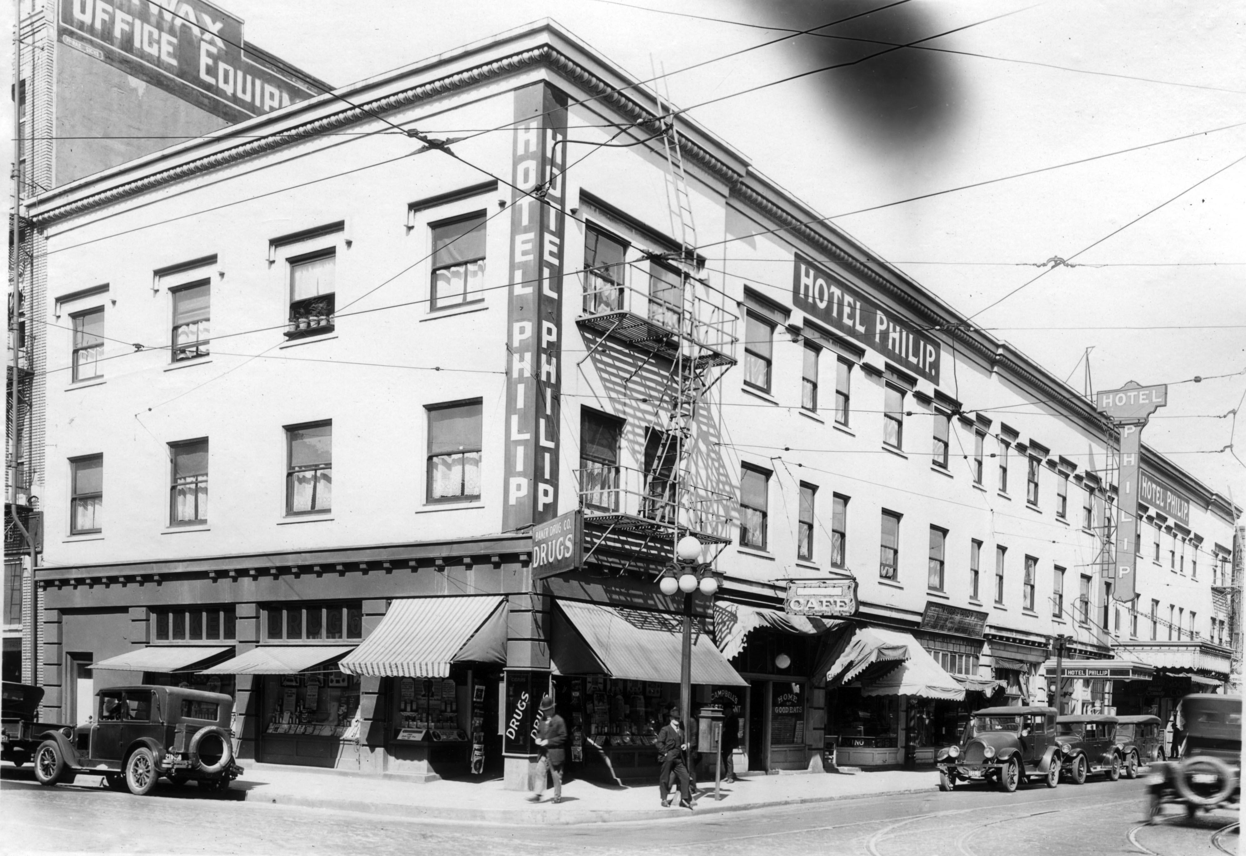 Hotel Philip, 1927   Vintage Portland