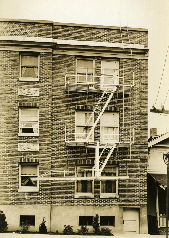 apartment building c1930 help us out vintage portland