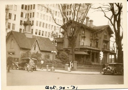 corbett mansion 1931
