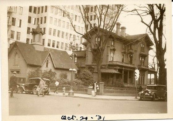 corbett mansion 1931