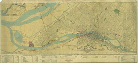PARC - Industrial Map of Portland 1924 5k