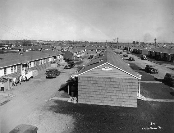 A2001-025.260 Guilds Lake war housing c1942