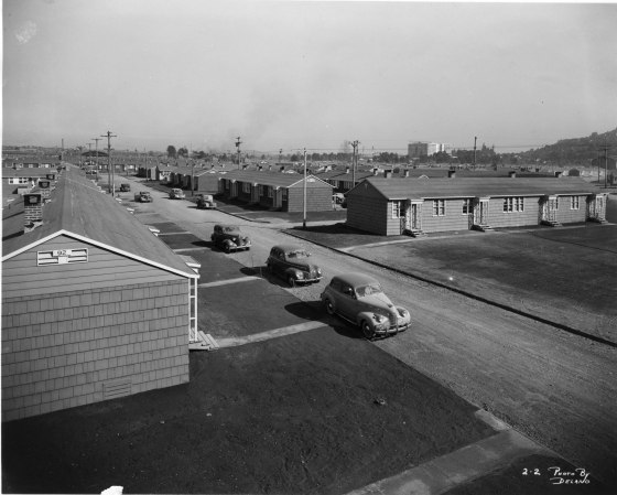 A2001-025.265 Guilds Lake Courts housing units c1942