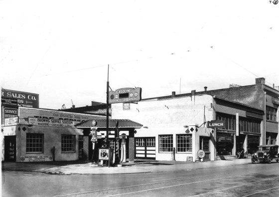 W Burnside and N Eighth 1928