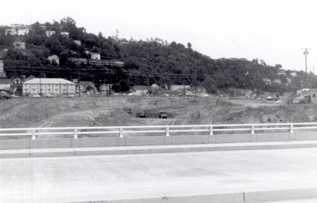 A2005-001.774 Foothill Freeway I405 from SW 1st west 1965
