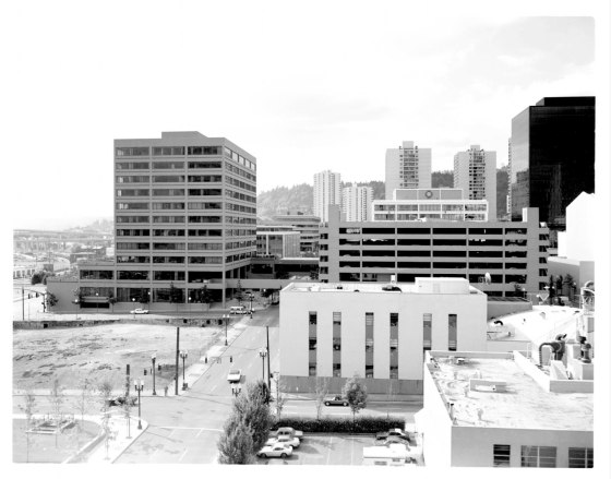 Downtown parking garage 1975