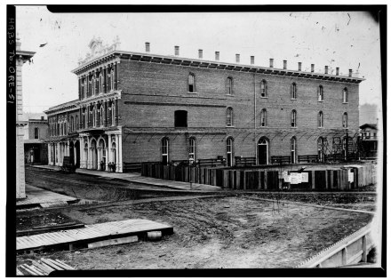 New Market Theater & North Wing LOC c1873