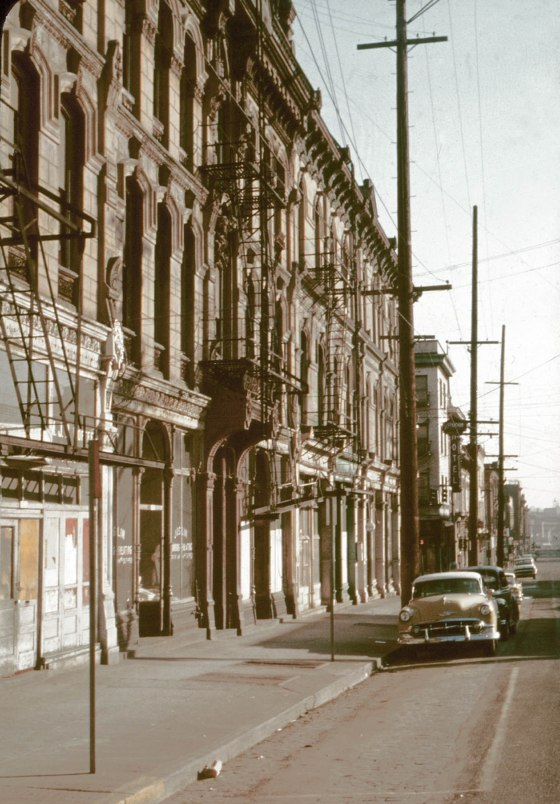 ladd block sw 1st and columbia 19191 c1960