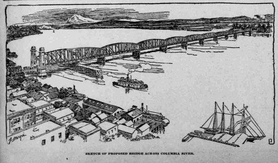 proposed columbia river bridge 19130101