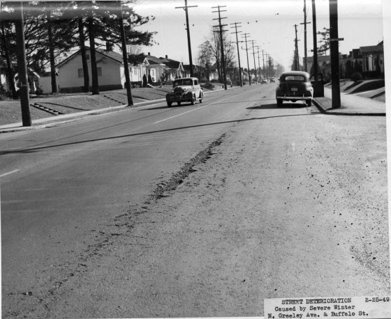 A2001-007.607 N Greeley Ave at N Buffalo St 1949