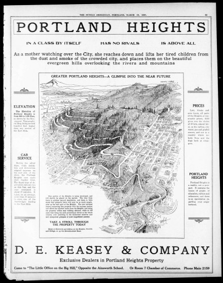 de keasey real estate 1907