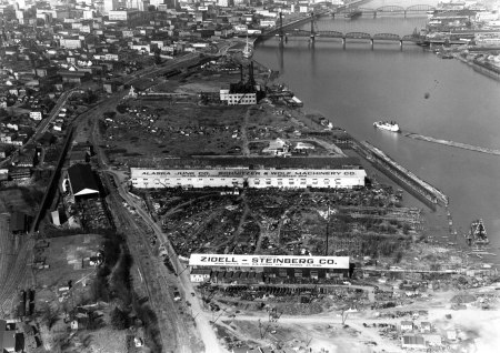 A2010-001.131 Aerial of SW Waterfront 1938
