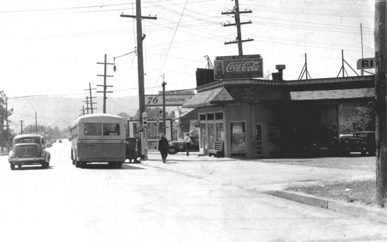 A2005-001.515 SE Powell and 39th west 1937