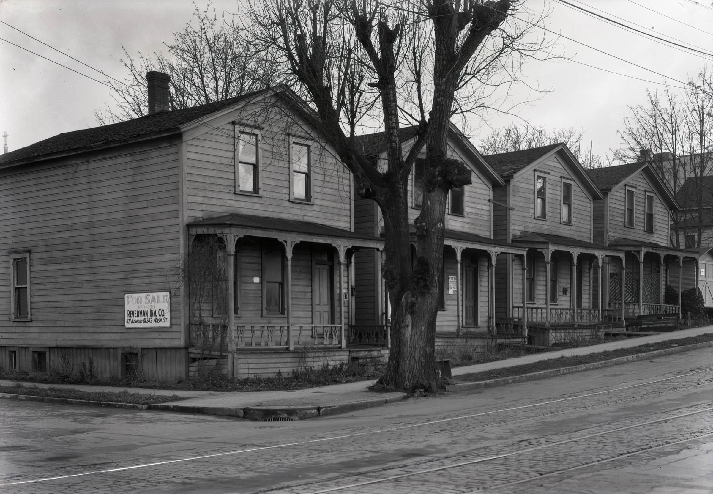 A2009-009.341 Houses for sale on SE Morrison 1929