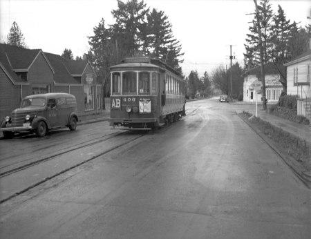 A2009-009.4152 Streetcar along Alberta Line 1944