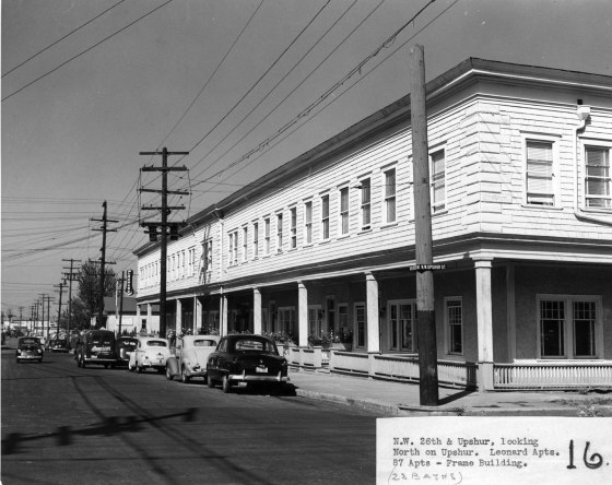 A2001-025.83 NW 26th and Upshur north c1951