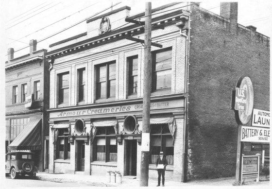 A2009-009.1808 NE Union between Russell & Knott 1929