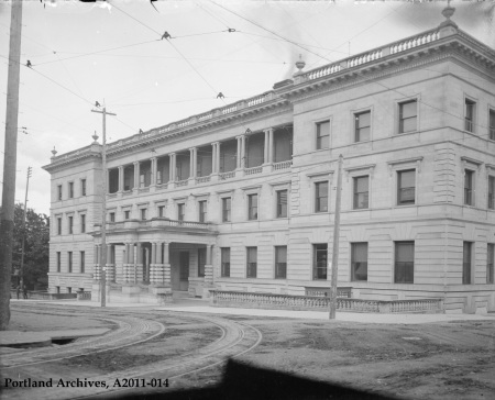 City Hall from 5th Ave and Jefferson St. circa 1905 : A2011-014