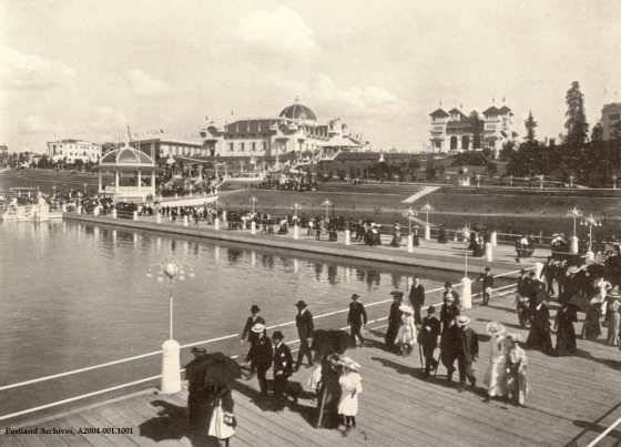 Lewis and Clark Exposition Esplanade 1905 : A2004-002.1001
