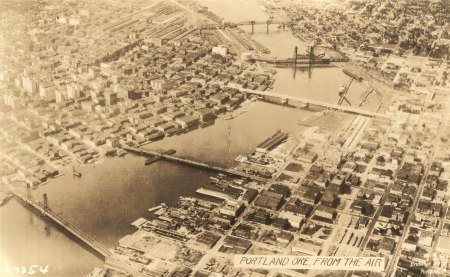 A2004-002.73 Portland from the Air c1926