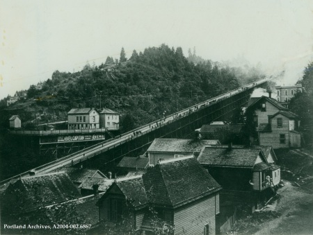Portland Heights cable railway, circa 1890 : A2004-002.6867