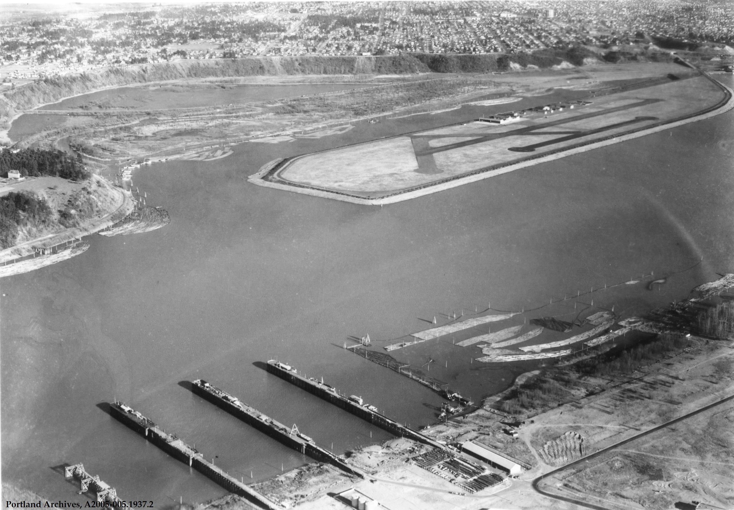 Swan Island was the site of Portland's first airport, Swan Island Municipal Airport, dedicated by Charles Lindbergh in and operating until the early s when the island was converted to naval shipbuilding use for World War II as one of the Kaiser codermadys.ml: Portland.