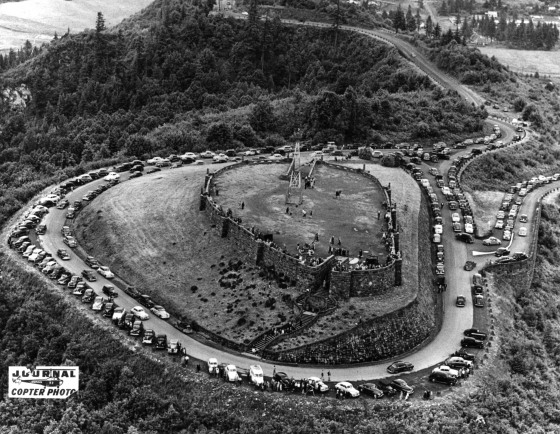 Rocky Butte Viewpoint 1948 : David Lewis