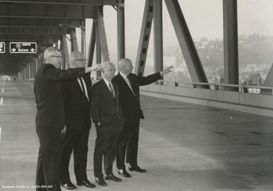 Council on new Marquam Bridge, Sept. 29, 1966 : A2001-09.389