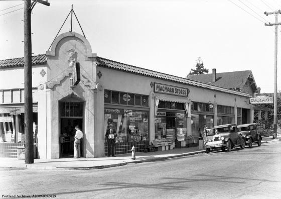 NE Broadway, 1929 : A2009-009.3425