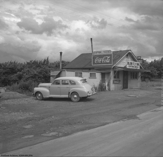 Blow Fly Inn 9101 N Swift Blvd., July 16, 1942: A2009-009.3554