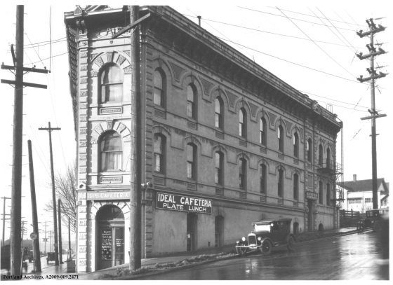 N Larrabee Ave. [N Interstate] and Albina Ave., 1927: A2009-009.2471
