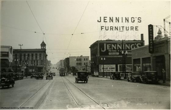 Eastside of Burnside Bridge, Jan. 4,1932: A2004-001.622