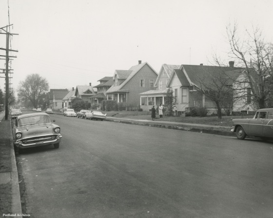 Unidentified Street, March 21, 1962