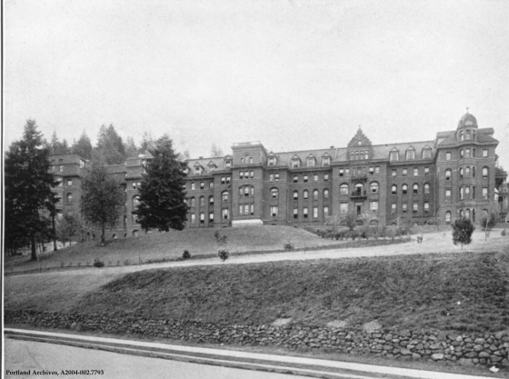 View of St. Vincent s Hospital, circa 1911: A2004-002.7793