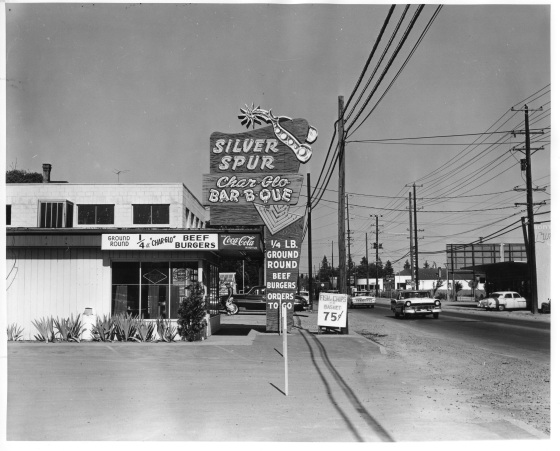 The Silver Spur on SE Stark Street, 1959: Multnomah County Archives