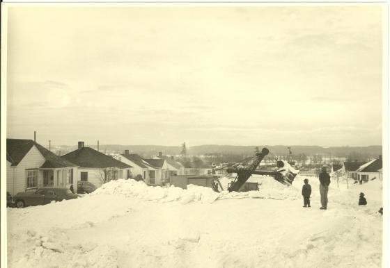 NE 116th Avenue and NE Shaver Street, 1950: Multnomah County Archives