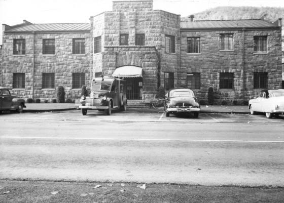 Rocky Butte Jail, 1950
