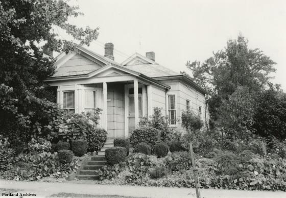 Unidentified house, circa 1960