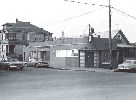 1939 SW 6th Ave - Cheerful Tortoise tavern, February 1964: Architecture, Engineering, and Construction Archives, Portland State University