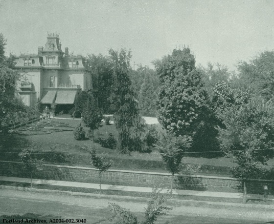 Residence of William S. Ladd, circa 1892: A2004-002.3040