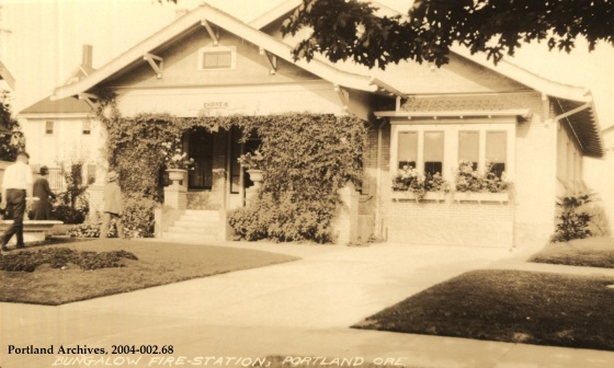 Bungalow Fire-Station, circa 1925: A2004-002.68