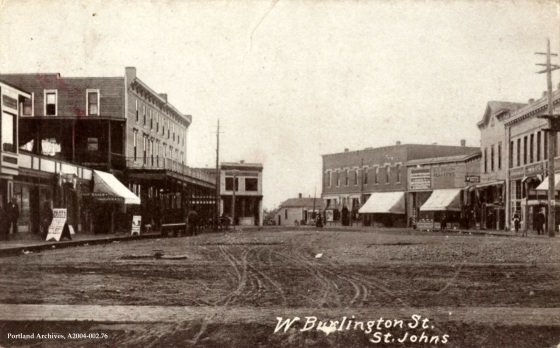 W Burlington Street, St Johns, circa 1910: A2004-002.76