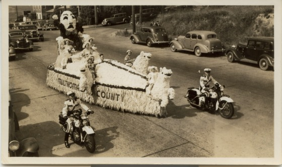 County Parade Float, circa 1940