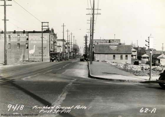 SW First Street Fill, April 10, 1931: A2000-025.168