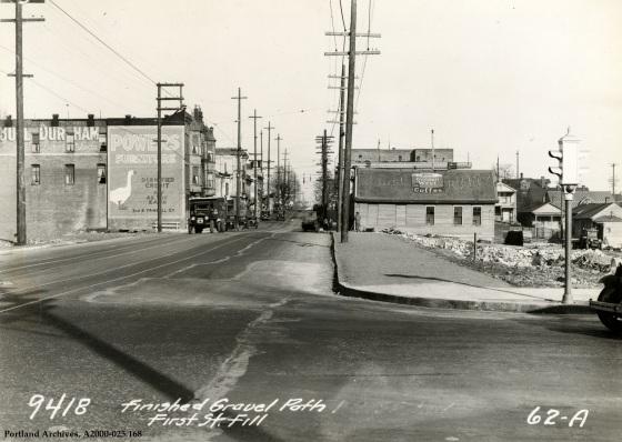 SW First Street Fill, April 10, 1931: A2000-025.168
