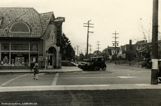 NE 41st Avenue and NE Fremont Street, January 4, 1932: A2004-001.626