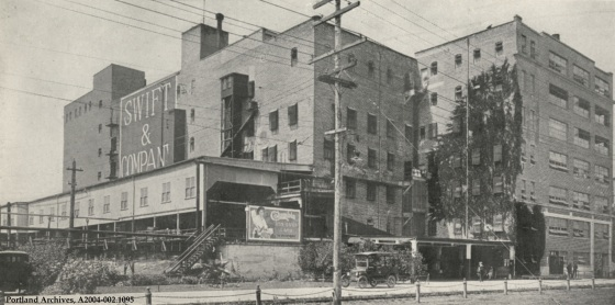 View of Swift & Company building, 1919: A2004-002.1095